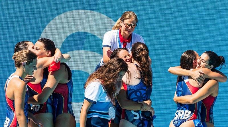 Ženska vaterpolo reprezentacija Srbije 2018