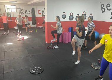 Trening ŽVK Crvena zvezda